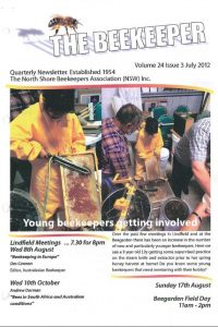 The Beekeeper Jul 2012