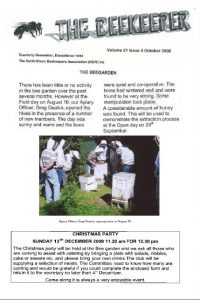 The Beekeeper Oct 2009