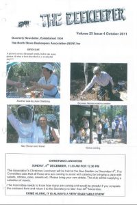 The Beekeeper Oct 2011