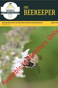 The Beekeeper Jan 2019 members only